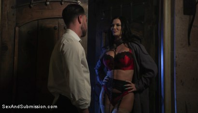 Photo number 4 from XXX-Mas Bonus: Jasmine Jae Lets Seth Gamble Dominate Her For X-Mas shot for Sex And Submission on Kink.com. Featuring Jasmine Jae and Seth Gamble in hardcore BDSM & Fetish porn.