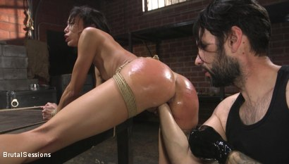Photo number 18 from Alexis Tae: Fuck-Hungry Slut Fisted For The First Time shot for Brutal Sessions on Kink.com. Featuring Tommy Pistol and Alexis Tae in hardcore BDSM & Fetish porn.