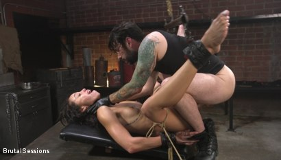 Photo number 26 from Alexis Tae: Fuck-Hungry Slut Fisted For The First Time shot for Brutal Sessions on Kink.com. Featuring Tommy Pistol and Alexis Tae in hardcore BDSM & Fetish porn.