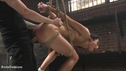 Photo number 5 from Alexis Tae: Fuck-Hungry Slut Fisted For The First Time shot for Brutal Sessions on Kink.com. Featuring Tommy Pistol and Alexis Tae in hardcore BDSM & Fetish porn.