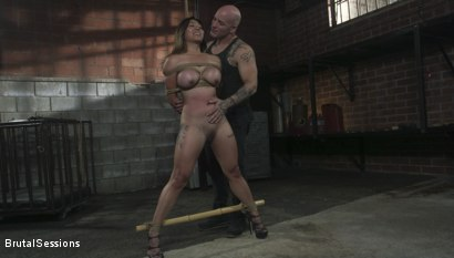 Photo number 2 from The Beautiful Slut shot for Brutal Sessions on Kink.com. Featuring Derrick Pierce and Jasmine Ryder in hardcore BDSM & Fetish porn.