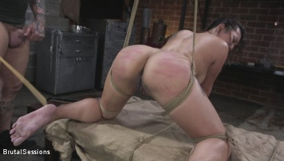 Photo number 11 from The Beautiful Slut shot for Brutal Sessions on Kink.com. Featuring Derrick Pierce and Jasmine Ryder in hardcore BDSM & Fetish porn.