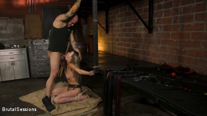Photo number 10 from Adira Allure: Derrick Pierce Takes Down the Domme shot for Brutal Sessions on Kink.com. Featuring Adira Allure  and Derrick Pierce in hardcore BDSM & Fetish porn.