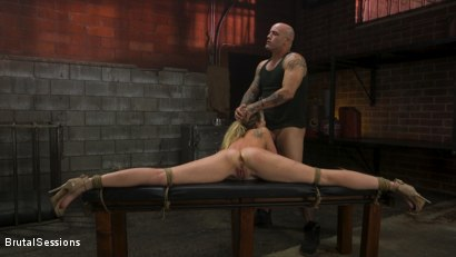 Photo number 13 from Adira Allure: Derrick Pierce Takes Down the Domme shot for Brutal Sessions on Kink.com. Featuring Adira Allure  and Derrick Pierce in hardcore BDSM & Fetish porn.