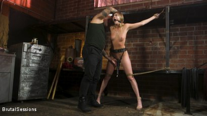 Photo number 3 from Adira Allure: Derrick Pierce Takes Down the Domme shot for Brutal Sessions on Kink.com. Featuring Adira Allure  and Derrick Pierce in hardcore BDSM & Fetish porn.