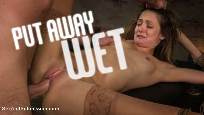 Put Away Wet: Zoe Sparx Squirts Under Charles Dera's Punishing Cock