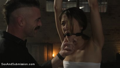 Photo number 3 from Put Away Wet: Zoe Sparx Squirts Under Charles Dera's Punishing Cock shot for Sex And Submission on Kink.com. Featuring Charles Dera and Zoe Sparx in hardcore BDSM & Fetish porn.