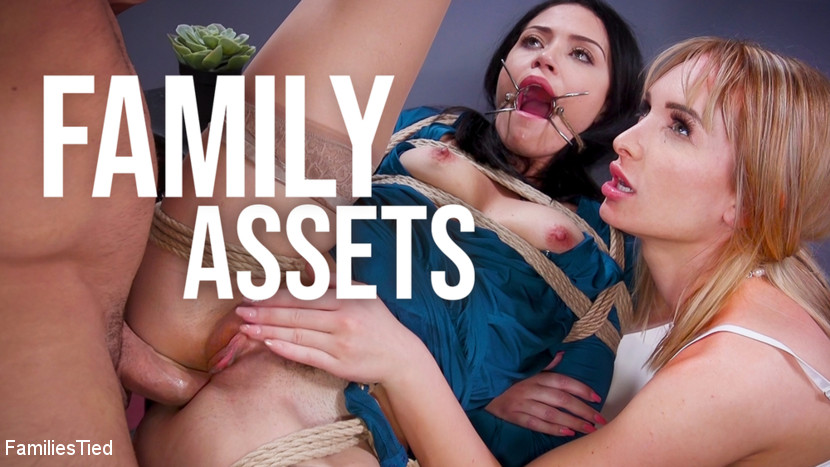 Families Tied - Family Assets: Cold Hearted Step-Sister Warms Up To Her Brother's Cock