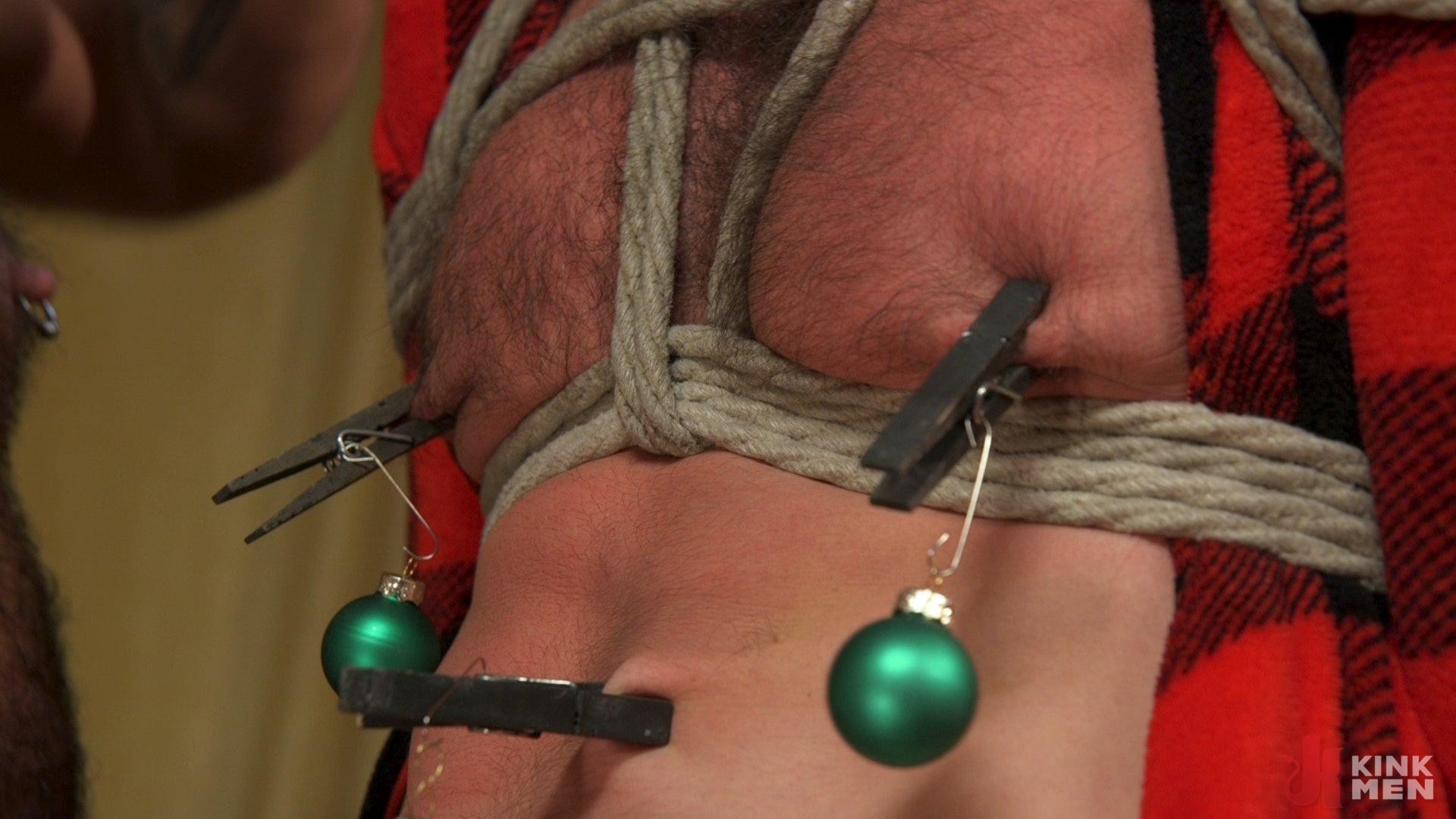 Photo number 13 from Homo Alone, Part One: Vander Pulaski Taken Down in Home Invasion shot for Bound Gods on Kink.com. Featuring Dirk Caber, Jack Dyer and Vander Pulaski in hardcore BDSM & Fetish porn.