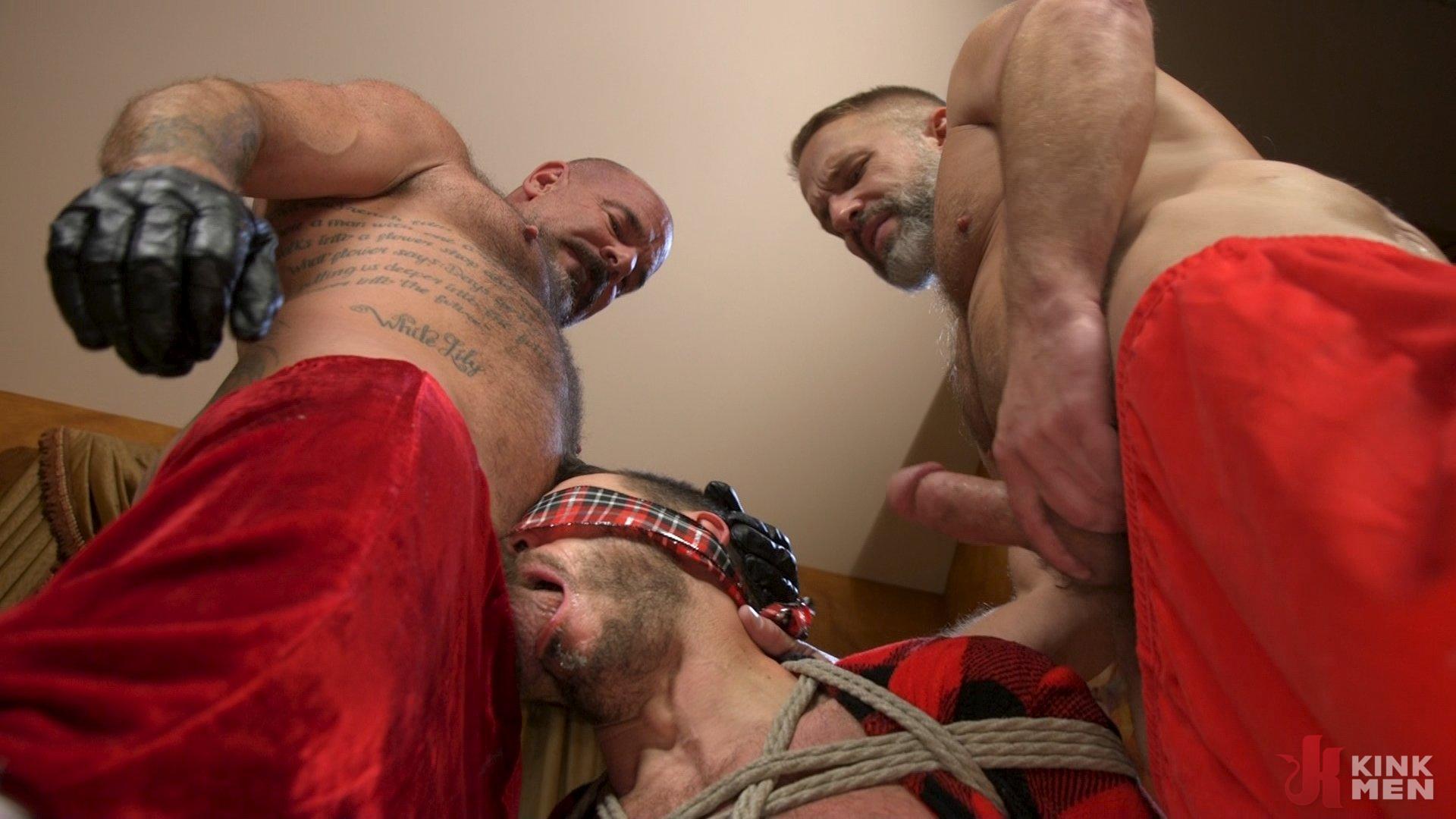 Photo number 18 from Homo Alone, Part One: Vander Pulaski Taken Down in Home Invasion shot for Bound Gods on Kink.com. Featuring Dirk Caber, Jack Dyer and Vander Pulaski in hardcore BDSM & Fetish porn.