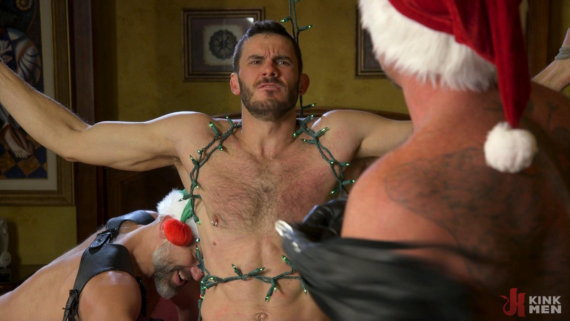 Photo number 22 from Homo Alone, Part One: Vander Pulaski Taken Down in Home Invasion shot for Bound Gods on Kink.com. Featuring Dirk Caber, Jack Dyer and Vander Pulaski in hardcore BDSM & Fetish porn.