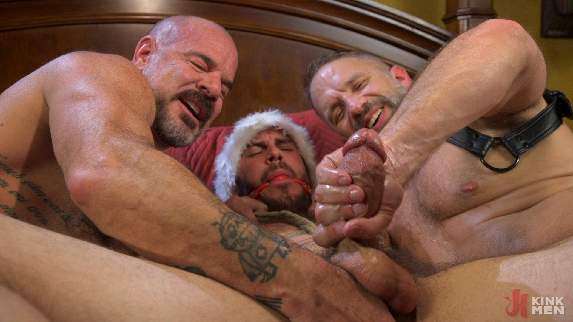 Photo number 32 from Homo Alone, Part One: Vander Pulaski Taken Down in Home Invasion shot for Bound Gods on Kink.com. Featuring Dirk Caber, Jack Dyer and Vander Pulaski in hardcore BDSM & Fetish porn.