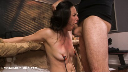 Photo number 7 from Anal Evidence: Dirty Cop Fucks & Abuses Evidence Clerk Casey Calvert shot for Sex And Submission on Kink.com. Featuring Tommy Pistol and Casey Calvert in hardcore BDSM & Fetish porn.
