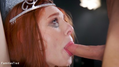Photo number 11 from Bad Habits: New Year's Resolution Lands Family in Latex Anal Training shot for  on Kink.com. Featuring Seth Gamble, Lacy Lennon  and Penny Pax in hardcore BDSM & Fetish porn.