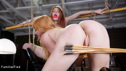 Photo number 16 from Bad Habits: New Year's Resolution Lands Family in Latex Anal Training shot for  on Kink.com. Featuring Seth Gamble, Lacy Lennon  and Penny Pax in hardcore BDSM & Fetish porn.