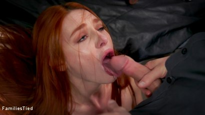 Photo number 6 from Bad Habits: New Year's Resolution Lands Family in Latex Anal Training shot for  on Kink.com. Featuring Seth Gamble, Lacy Lennon  and Penny Pax in hardcore BDSM & Fetish porn.