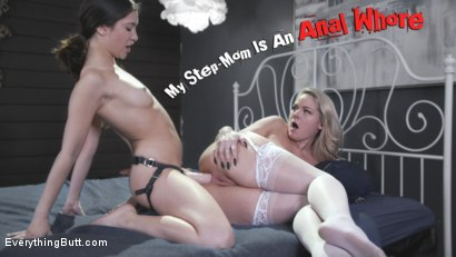 My Step-Mom Is An Anal Whore