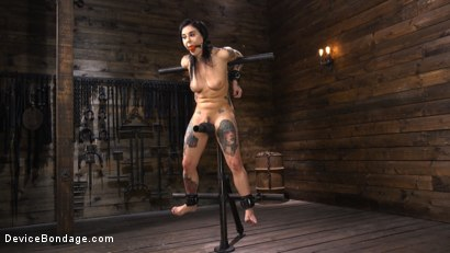 Photo number 1 from Joanna Angel: Tattooed Slut Made to Cum in Grueling Bondage shot for Device Bondage on Kink.com. Featuring Joanna Angel in hardcore BDSM & Fetish porn.