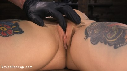 Photo number 17 from Joanna Angel: Tattooed Slut Made to Cum in Grueling Bondage shot for Device Bondage on Kink.com. Featuring Joanna Angel in hardcore BDSM & Fetish porn.