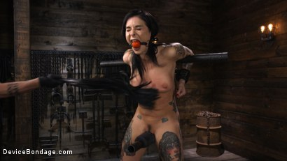 Photo number 2 from Joanna Angel: Tattooed Slut Made to Cum in Grueling Bondage shot for Device Bondage on Kink.com. Featuring Joanna Angel in hardcore BDSM & Fetish porn.