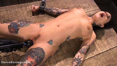 Photo number 23 from Joanna Angel: Tattooed Slut Made to Cum in Grueling Bondage shot for Device Bondage on Kink.com. Featuring Joanna Angel in hardcore BDSM & Fetish porn.