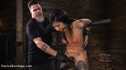 Photo number 5 from Joanna Angel: Tattooed Slut Made to Cum in Grueling Bondage shot for Device Bondage on Kink.com. Featuring Joanna Angel in hardcore BDSM & Fetish porn.