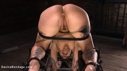 Photo number 9 from Joanna Angel: Tattooed Slut Made to Cum in Grueling Bondage shot for Device Bondage on Kink.com. Featuring Joanna Angel in hardcore BDSM & Fetish porn.
