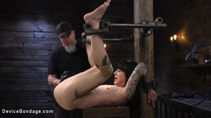 Photo number 20 from Charlotte Sartre: Gothic Torment in Diabolical Bondage shot for Device Bondage on Kink.com. Featuring Charlotte Sartre in hardcore BDSM & Fetish porn.