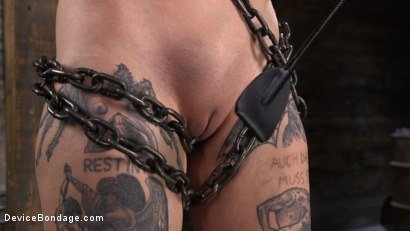 Photo number 5 from Charlotte Sartre: Gothic Torment in Diabolical Bondage shot for Device Bondage on Kink.com. Featuring Charlotte Sartre in hardcore BDSM & Fetish porn.