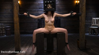 Photo number 1 from Lacy Lennon: Gorgeous Redhead's Sensual Submission shot for Device Bondage on Kink.com. Featuring Lacy Lennon in hardcore BDSM & Fetish porn.