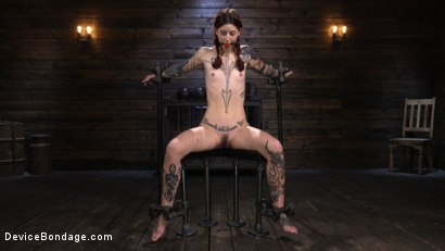 Photo number 17 from Cam Damage: First Time Torment For A Badass shot for Device Bondage on Kink.com. Featuring Cam Damage in hardcore BDSM & Fetish porn.