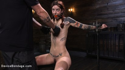 Photo number 19 from Cam Damage: First Time Torment For A Badass shot for Device Bondage on Kink.com. Featuring Cam Damage in hardcore BDSM & Fetish porn.