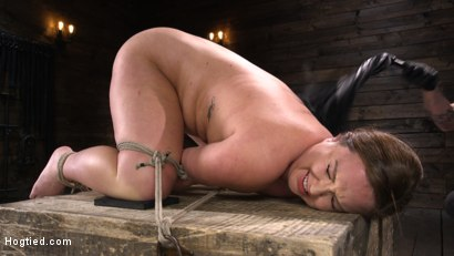 Photo number 11 from Maddy O'Reilly: Naughty Slut Submits to The Pope shot for Hogtied on Kink.com. Featuring Maddy O'Reilly in hardcore BDSM & Fetish porn.