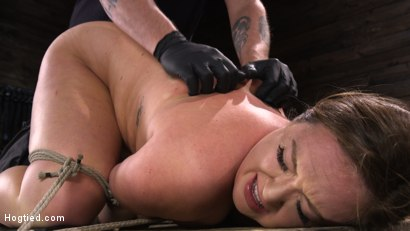 Photo number 14 from Maddy O'Reilly: Naughty Slut Submits to The Pope shot for Hogtied on Kink.com. Featuring Maddy O'Reilly in hardcore BDSM & Fetish porn.