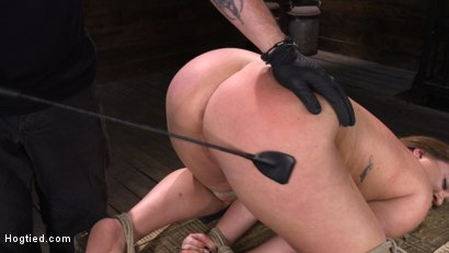 Photo number 17 from Maddy O'Reilly: Naughty Slut Submits to The Pope shot for Hogtied on Kink.com. Featuring Maddy O'Reilly in hardcore BDSM & Fetish porn.