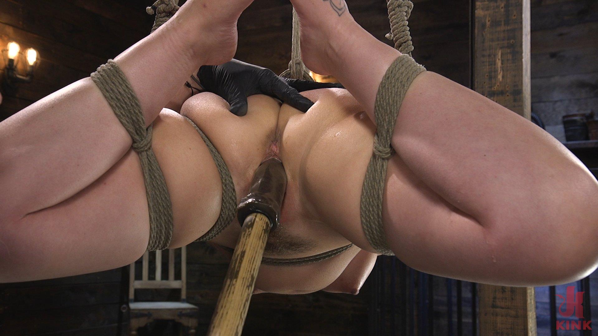 Photo number 13 from Carmen Valentina: The Brutal Bondage Basics! shot for Hogtied on Kink.com. Featuring Carmen Valentina in hardcore BDSM & Fetish porn.
