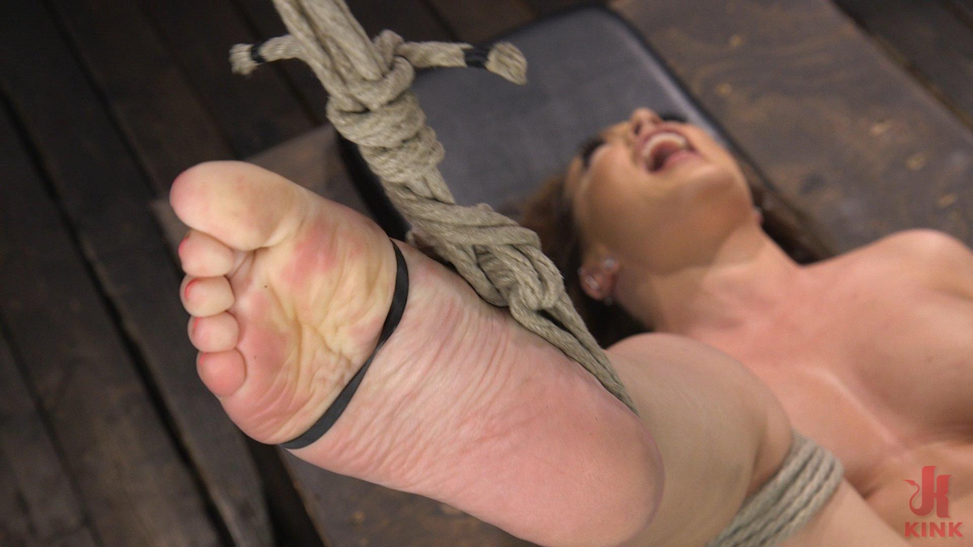 Photo number 20 from Carmen Valentina: The Brutal Bondage Basics! shot for Hogtied on Kink.com. Featuring Carmen Valentina in hardcore BDSM & Fetish porn.