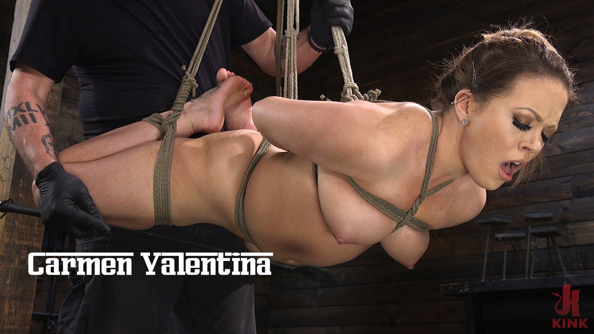 Carmen Valentina: The Brutal Bondage Basics!