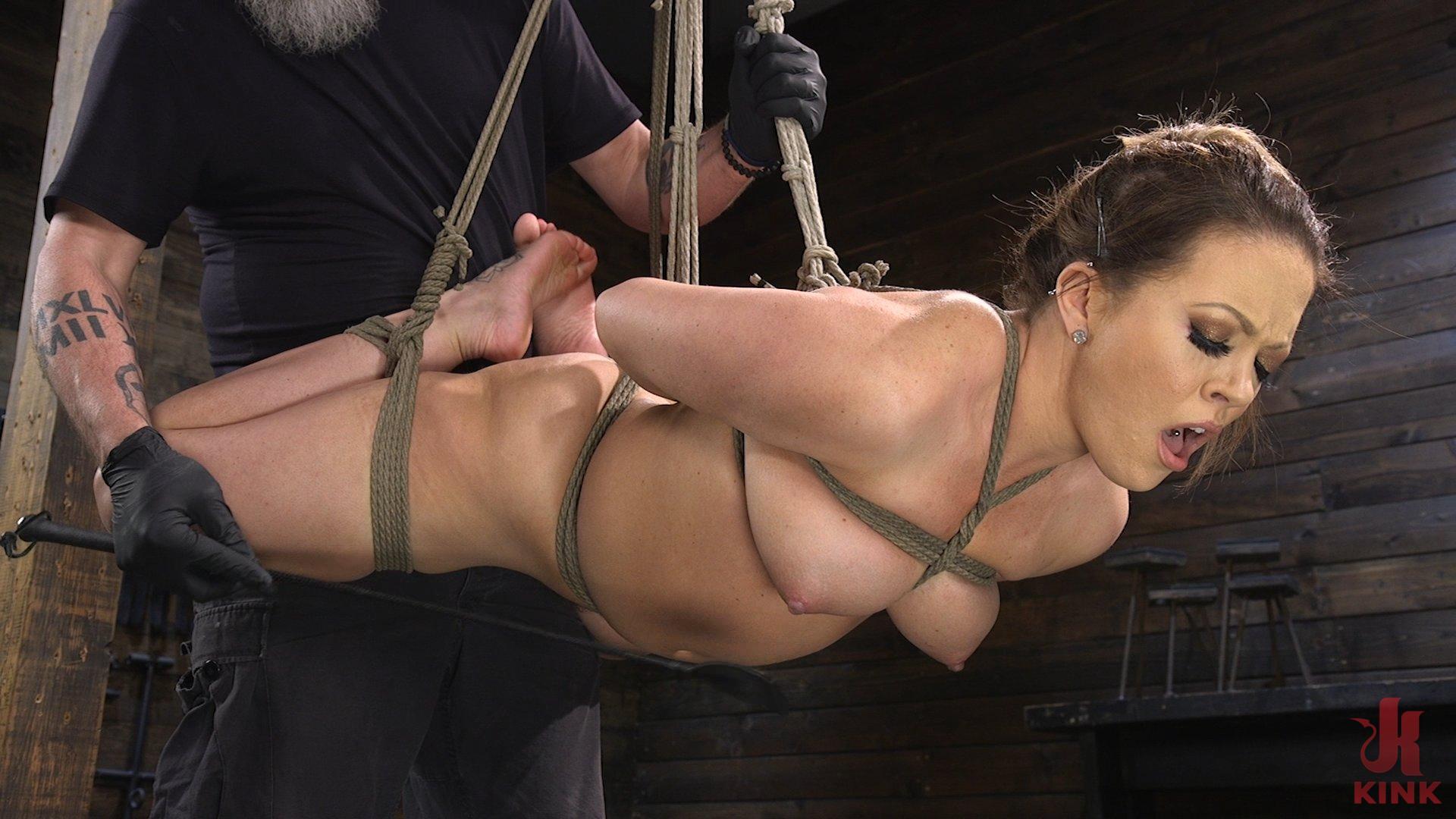 Photo number 8 from Carmen Valentina: The Brutal Bondage Basics! shot for Hogtied on Kink.com. Featuring Carmen Valentina in hardcore BDSM & Fetish porn.