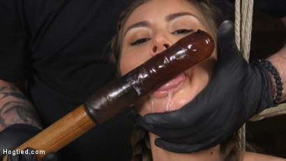 Photo number 13 from Paige Owens: Hot, Young, and Willing to Suffer in Bondage shot for Hogtied on Kink.com. Featuring Paige Owens in hardcore BDSM & Fetish porn.