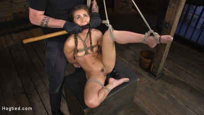 Photo number 15 from Paige Owens: Hot, Young, and Willing to Suffer in Bondage shot for Hogtied on Kink.com. Featuring Paige Owens in hardcore BDSM & Fetish porn.