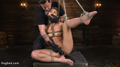 Photo number 16 from Paige Owens: Hot, Young, and Willing to Suffer in Bondage shot for Hogtied on Kink.com. Featuring Paige Owens in hardcore BDSM & Fetish porn.