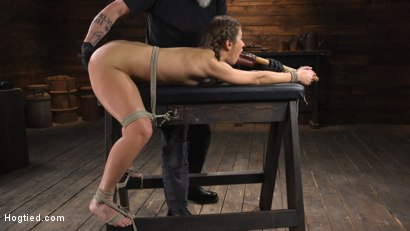 Photo number 19 from Paige Owens: Hot, Young, and Willing to Suffer in Bondage shot for Hogtied on Kink.com. Featuring Paige Owens in hardcore BDSM & Fetish porn.