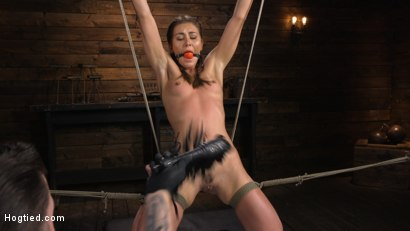 Photo number 2 from Paige Owens: Hot, Young, and Willing to Suffer in Bondage shot for Hogtied on Kink.com. Featuring Paige Owens in hardcore BDSM & Fetish porn.