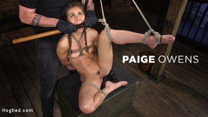 Paige Owens: Hot, Young, and Willing to Suffer in Bondage