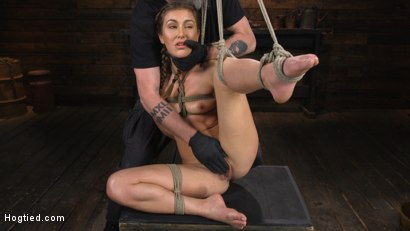 Photo number 9 from Paige Owens: Hot, Young, and Willing to Suffer in Bondage shot for Hogtied on Kink.com. Featuring Paige Owens in hardcore BDSM & Fetish porn.