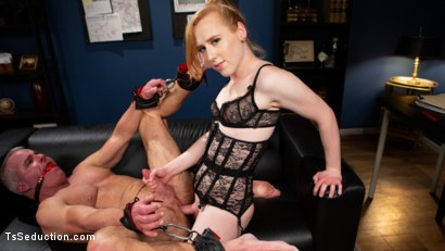 Getting Ahead: Shiri Allwood Owns Her Boss, Dale Savage With Her Cock