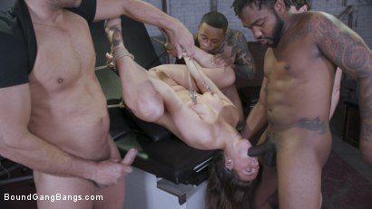 Photo number 6 from Patient 365: Gang Bang Therapy shot for Bound Gang Bangs on Kink.com. Featuring Febby Twigs , Ramon Nomar, Eddie Jaye, Robby Echo, John Johnson and Dillon Cox in hardcore BDSM & Fetish porn.