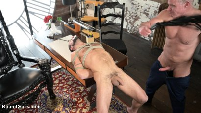 Photo number 15 from The Savage Company Ltd: Dale Savage Punishes Employee, DJ shot for Bound Gods on Kink.com. Featuring Dale Savage and DJ in hardcore BDSM & Fetish porn.