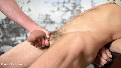 Photo number 16 from The Savage Company Ltd: Dale Savage Punishes Employee, DJ shot for Bound Gods on Kink.com. Featuring Dale Savage and DJ in hardcore BDSM & Fetish porn.